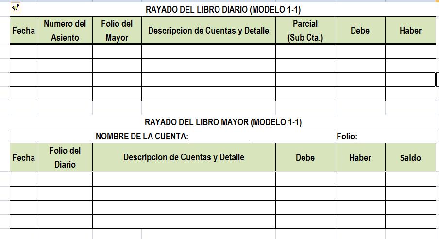 Como Registrar El Libro Diario y Mayor - EXCELCONTABLEX.COM